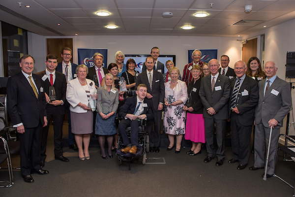 Torch Trophy Trust Awards 2017 at British Olympic Association Offices in London